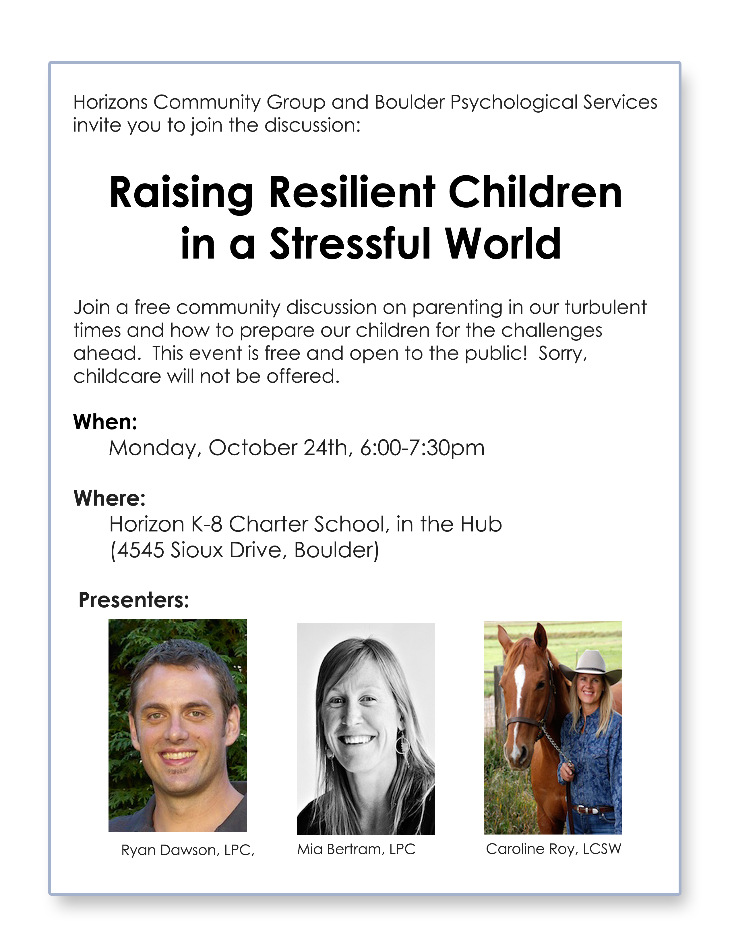 raising resilient children The increased stress, pressure, and demands on children today have caused an alarming increase in childhood depression, health disorders, and antisocial behavior however, numerous scientific studies of children facing great adversity have shown just how important resilience is for successful.