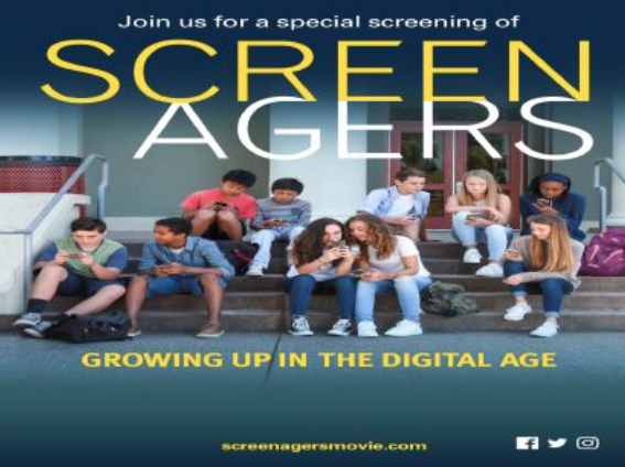 SCREENAGERS- Friday Jan 13, 2017
