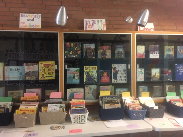 The Diversity and Inclusion Pop Up Library is Open!