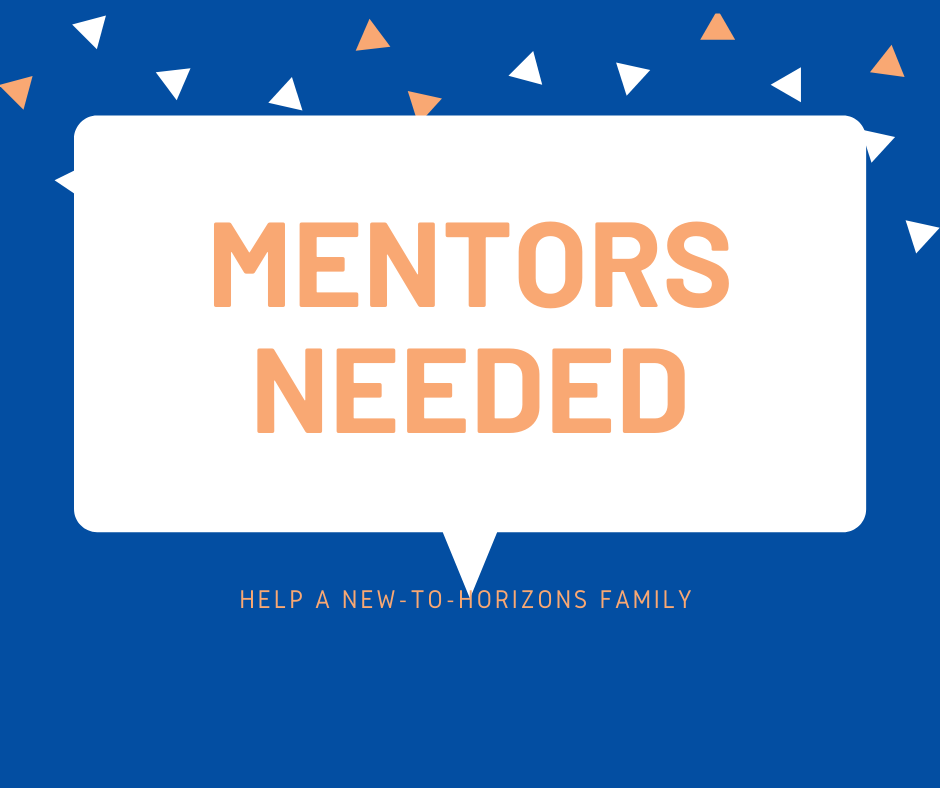WOULD YOU BE A MENTOR?
