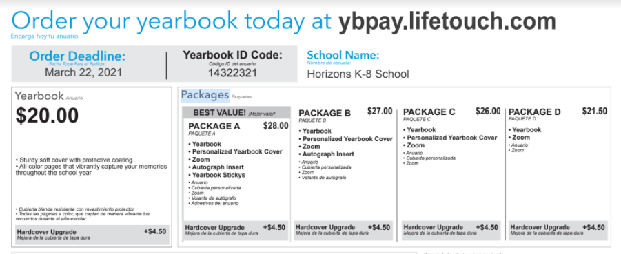 Yearbook - Order Now!